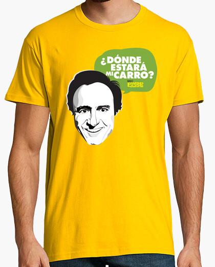 Manolo escobar shirt: where will my car be? t-shirt
