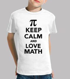 mantén la calma y ama la matemática pi