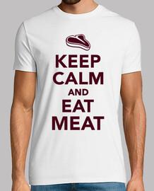 mantén la calma y come carne