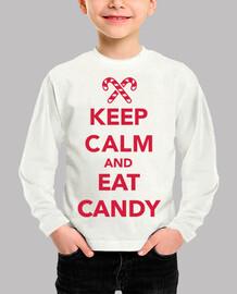 mantén la calma y come dulces