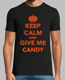 mantén la calma y dame dulces