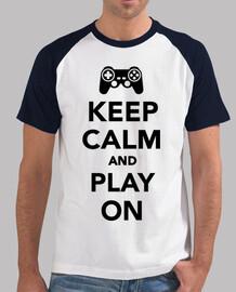 mantén la calma y juega