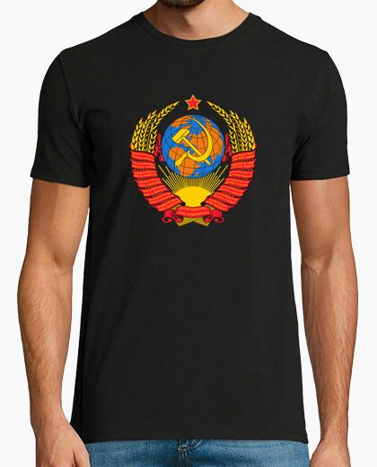 Tee-shirt manteau union soviétique. urss