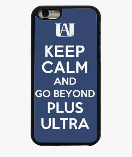Funda iPhone 6 / 6S mantén la calma e ir más allá