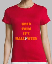 mantén la calma es halloween