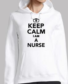 mantén la calma soy enfermera