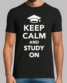 mantén la calma soy estudiante