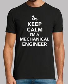 mantén la calma soy ingeniero mecánico