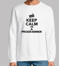 mantén la calma soy programador