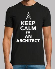 mantén la calma soy un arquitecto
