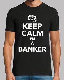 mantén la calma soy un banquero