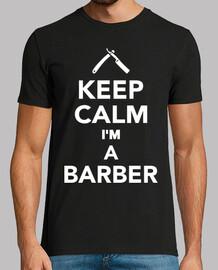 mantén la calma soy un barbero