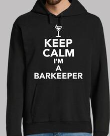 mantén la calma soy un barman