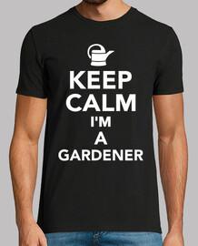 mantén la calma soy un jardinero