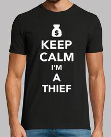 mantén la calma soy un ladrón