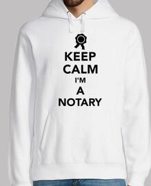 mantén la calma soy un notario