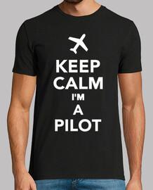 mantén la calma soy un piloto