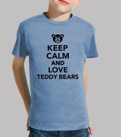 mantén la calma y ama a los osos de pel