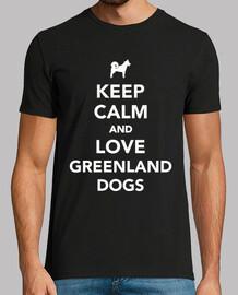 mantén la calma y ama a los perros de G