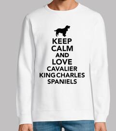 mantén la calma y ama al rey Charles Ch