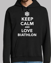 mantén la calma y ama el biatlón