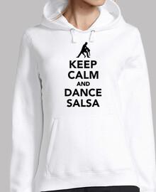mantén la calma y baila salsa
