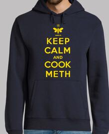 mantén la calma y cocina metanfetamina