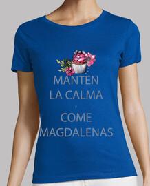 Mantén la calma y come magdalenas / Cup