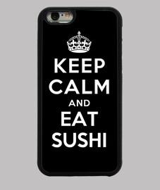 mantén la calma y come sushi