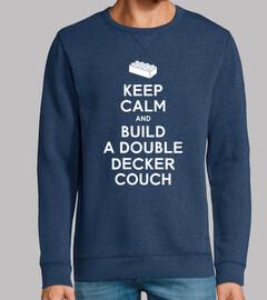mantén la calma y construye un sofá