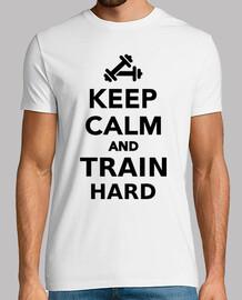 mantén la calma y entrena duro