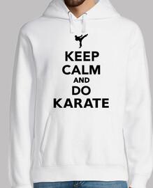 mantén la calma y haz karate