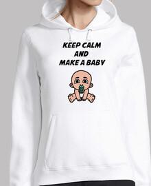 mantén la calma y haz un bebé