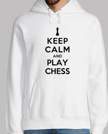 mantén la calma y juega al ajedrez