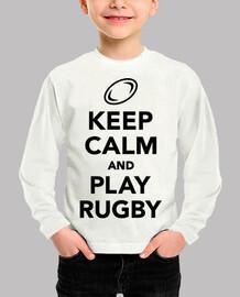 mantén la calma y juega al rugby