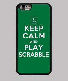 mantén la calma y juega al scrabble