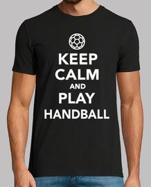 Manten la calma y juega handball