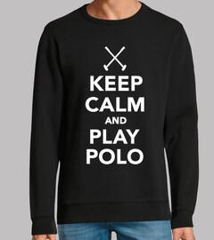 mantén la calma y juega polo