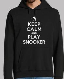 mantén la calma y juega snooker