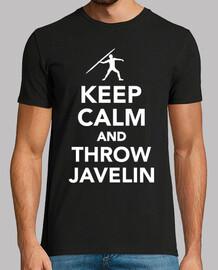mantén la calma y lanza la jabalina
