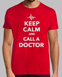 mantén la calma y llama a un doctor