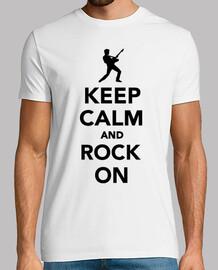 mantén la calma y rockea