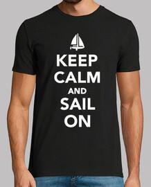 mantén la calma y sigue navegando