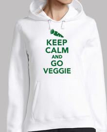 mantén la calma y vete vegetariano
