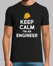mantener la calma de regalo ingeniero