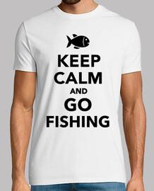 mantener la calma e ir a pescar