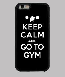 mantener la calma e ir al gimnasio