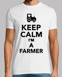 mantener la calma im un agricultor