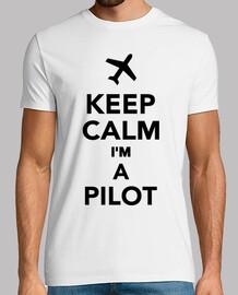 mantener la calma im un piloto