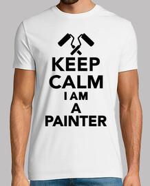 mantener la calma im un pintor